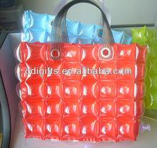 PVC Inflatable Plastic Beach Tote Bag