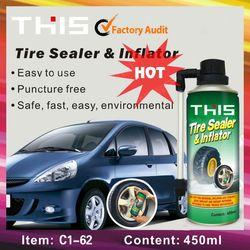 Tire repair tire sealer & inflator