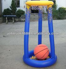 pvc inflatable basketball goal for children/ inflatable fuuny basketball for kids/ inflatable pvc toys