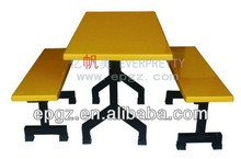 glass dining table eat table / school dining table bench / picnic table bench food court table