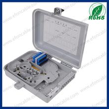 12 Core Plastic Watrerproof Outdoor Fiber Optic Cable Termination Box