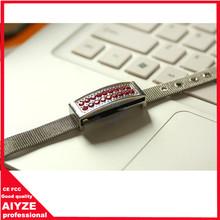 4GB 8GB metal and jewelry bracelet usb flash drive