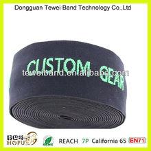 Custom printed elastic band