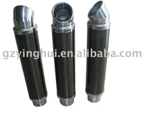 universal motorcycle carbon fibre stainless steel muffler silencer