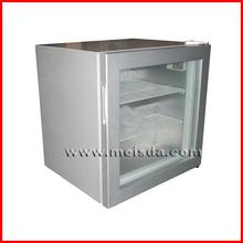 Showcase Refrigerator, Glass Door Ice Cream Display Freezer