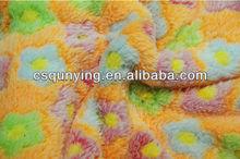 Coral velvet nylon 3 d printing fabic,soft coral fleece fabric,blanket fleece