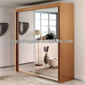 Deslizante espejo espejo de las puertas del armario