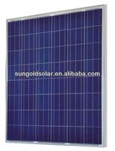 High Efficiency 195w polycrystalline Silicon cheap solar panels china