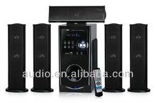 2014 5.1 CH home cinema ,net cloth wooden speaker
