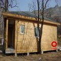 De structure légère en acier préfabriquée villa maison kit maisons