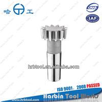 m1-2.75, PD25mm, PA20, Taper shank type gear shaper cutter.