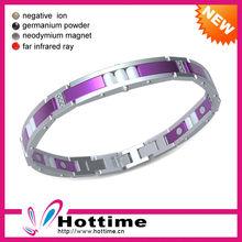 4 In 1 Bio Magnetic Rubber Magnetic Sports Bracelets