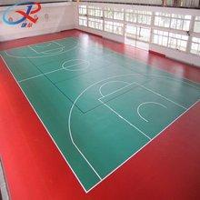 Green Basketball Sports Flooring indoor