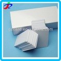 guangzhou de plástico blanco de la tarjeta del pvc