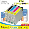 Popular Ink Cartridge For Epson T0441 Series Compatible Ink Cartridge T0441 T0442 T0443 T0444 with ISO SGS CE Certificates
