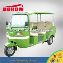 Indian style 250cc passenger bajaj tricycle/ tuk tuk for sale