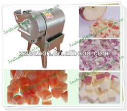 Fruit cube cutting machine |Stainless steel fruit and vegetable cube cutter mchine