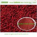 vendita calda estratto di lievito di riso rosso monacolina k