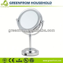 6 Inch Double Sides Door Mirror Cover Led Light