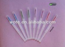 popular smart plastic mini water pen for horse race or gamble