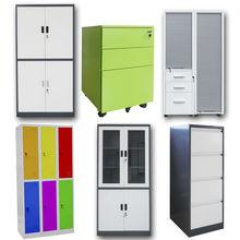 Modern Steel Metal Office Furniture File Cabinet Cupboard Locker Office Desk for Sale