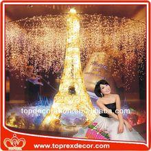 New Wedding products eiffel tower centerpiece christmas decoration