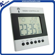 Radio controlled digital alarm clock Auto receive signal DCF