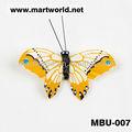 Lông nhân tạo butterflies nhiều màu sắc cho trang trí đám cưới Delicate lông bướm vòng hoa cho trẻ em events và ( MBU-007 )