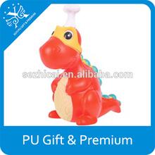 pu dinosaur anti stress ball dinosaur shaped foam ball dinosaur pu stress toy ball