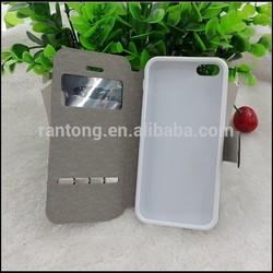High quality PU flip cover case for nokia lumia 730