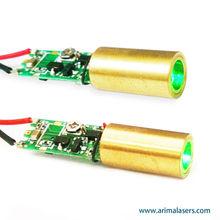 525nm 5mW 3V D8mm Green Laser Diode Module, Glass Lens Dot Green Laser Module for Industry Laser Equipment