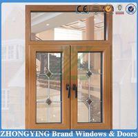 Customizable white pvc window rehau