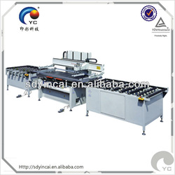 fully automatic glass screen printing machine with conveyor
