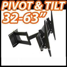 Pivot arm Plasma Full-motion TV Bracket,TV accessory