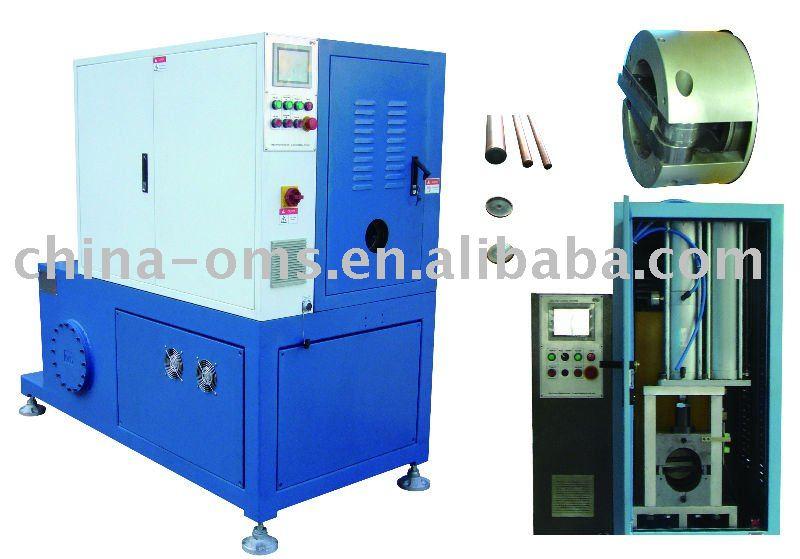 CNC tube end closing machine