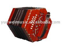 Logotipo livre impresso Concertina instrumento musical