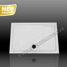 Large Custom Solid L800X1200X65 CERAMIC SHOWER TRAY