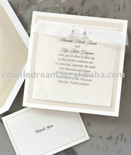 Timeless Style Wedding Invitation card