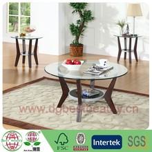 C018-WG-001 luxury dining room furniture count old wood coffee table wood