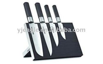 magnet wooden knife block / Foldable wooden knife block
