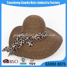 fashion ladies large brim straw hats
