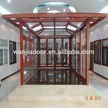 Wanjia aluminum sunroom, garden house, glass house