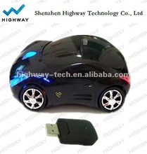 Car Shape 3D Optional Wireless car mouse