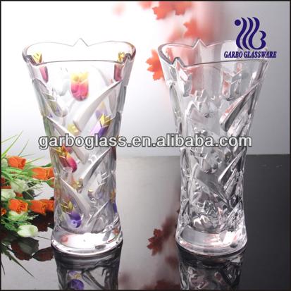 Elegant and Crystal Glass Vase