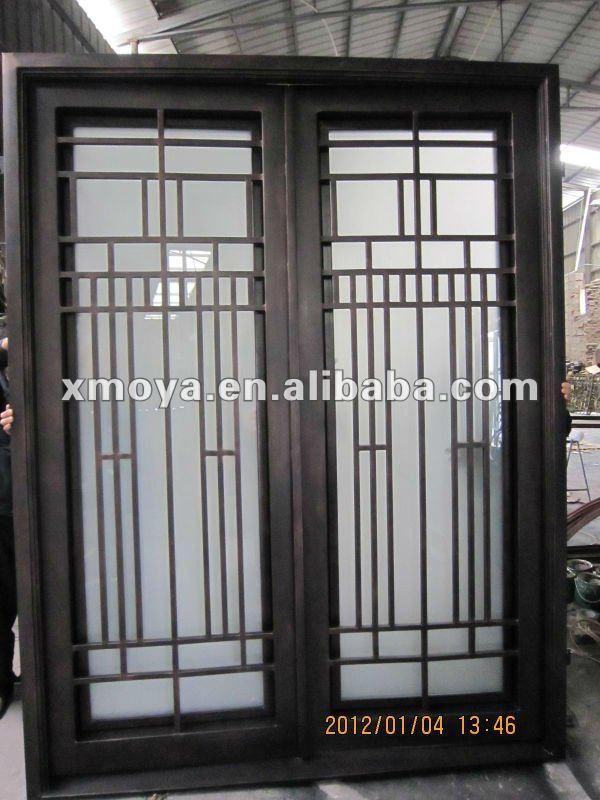 De entrada de hierro de dise o puertas identificaci n del - Puertas de entrada de diseno ...