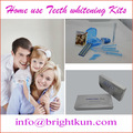 Meilleur accueil utilisation de blanchiment des dents kit, kit de blanchiment des dents à domicile