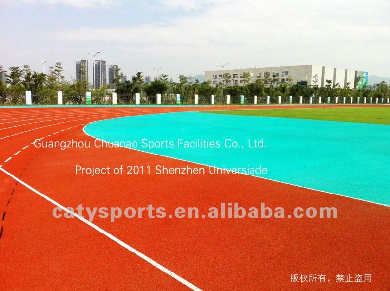 synthetic running track materials