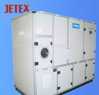 Rotary dehumidifier air handling unit