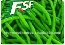 gefrorene grüne bohnen ganze