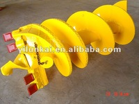 Continuous flight augers for CFA